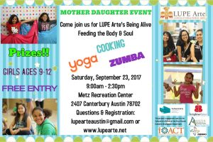 Being Alive Feeding the Body & Soul Girl Event