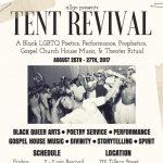 Tent Revival: A Festival of Black LGBTQ Arts and Prophetics