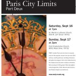 "Texas Early Music Project presents ""Paris City Limits, Part Deux"""