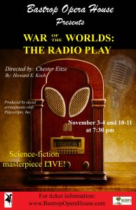 War Of The Worlds Radio Play