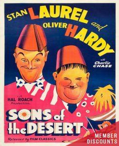 UCLA FESTIVAL OF PRESERVATION: SONS OF THE DESERT ...
