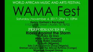 World African Music & Arts Festival (WAMAF)