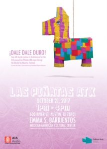 LAS PIÑATAS ATX hosted by AIA Austin Latinos in Architecture