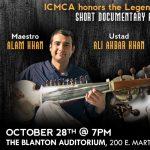 ICMCA presents Sarod Maestro Alam Khan at the Blanton!
