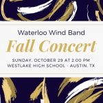 Waterloo Wind Band Fall Concert