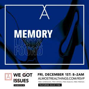 We Got Issues 08: Art & Music Showcase