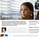 Where I Belong: Exhibit Opening and Artist Talk