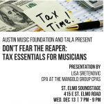 Austin Music Foundation and TALA Present Don't Fea...