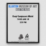 Keep Composers Weird at the Blanton