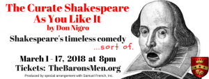 The Curate Shakespeare As You Like It