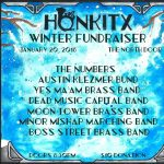 HONK!TX 2018 Fundraiser and Brass Band Showcase