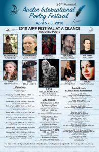 26th Annual Austin International Poetry Festival