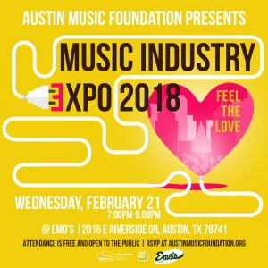 """4th Annual 'Feel the Love"""" Music Industry Expo"""