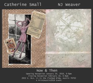 Now & Then: Catherine Small & NJ Weaver