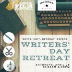 Writers' Day Retreat: Write, Edit, Retreat, Repeat