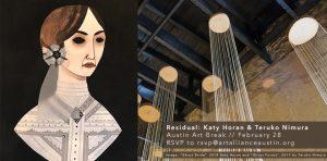 Art Break with Katy Horan & Teruko Nimura