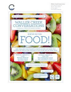 Waller Creek Conversations - Food!