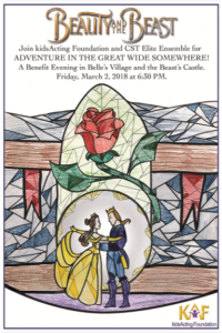 """Beauty and the Beast"" Spring 2018 KAF Benefit"