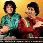 ICMCA presents Ustad Zakir Hussain (Tabla) and Maestro Rakesh Chaurasia (Flute)