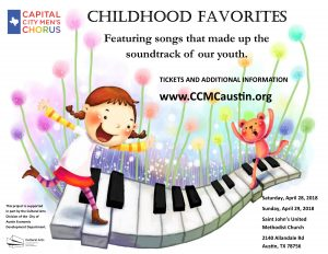 Capital City Men's Chorus presents Childhood Favorites!