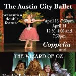 Austin City Ballet presents The Wizard of Oz and Coppelia