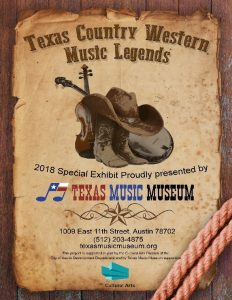Texas Country Western Music Legends