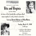 Vita and Virginia: A Staged Reading