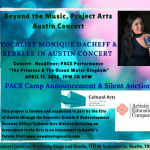Beyond the Music, Project Arts Austin Concert