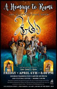 Homage to Rumi - Atash's Pre Carnegie Show