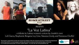 Home Street Music presents La Voz Latina - A Tribute to Latin American Female singers