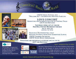 Classical Music For the World Love Concert