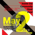 Inside Out Steelband in concert, featuring Dave Longfellow and Eddie Dickerson