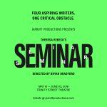 Jarrott Productions presents SEMINAR