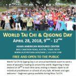 World TaiChi and QiGong Day