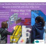 Kealing Middle School Mural Reception