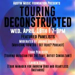 Austin Music Foundation Presents: Touring Deconstructed