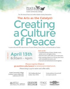 The Arts as a Catalyst: Creating a Culture of Peace