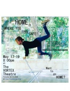 """""""HOME"""" presented by Violet Crown Players/Diverse Space Dance Theatre"""