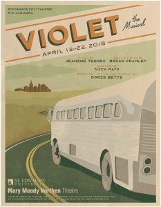VIOLET, book and lyrics by Brian Crawley, music by...