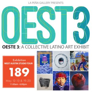 Opening of OESTE 3: A Latino Collective Exhibition - WEST #189