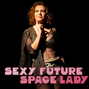 Sexy Future Space Lady