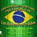 Saudade do Brasil: Los Bohemios Perdidos Perform the Music of Brazil at the M.A.C.C.