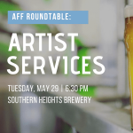 Artist Services Roundtable