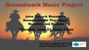 Groundwork Music Project presents Ranches and Rodeos