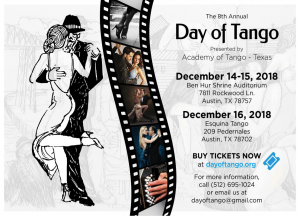 8th Annual Day of Tango 2018