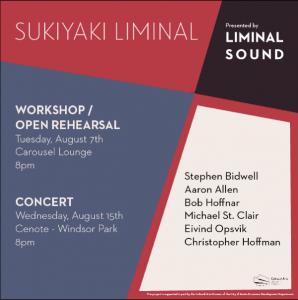 Sukiyaki Liminal Concert
