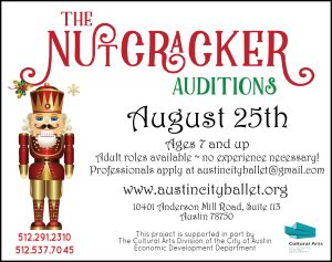 The Austin City Ballet Nutcracker Auditions