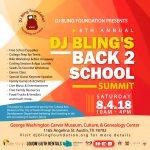 DJ Bling's Back 2 School Summit