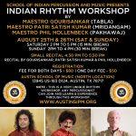SIPM Indian Rhythm Workshop