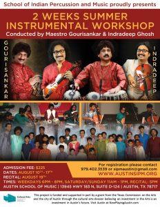 2 Weeks Summer Instrumental Workshop